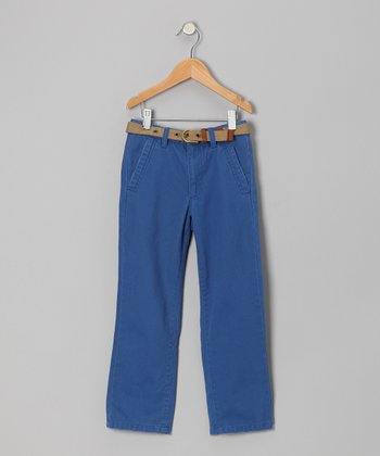 Nantucket Blue Chino Pants - Boys