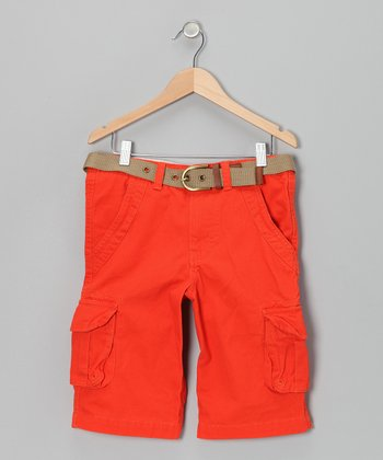 Mango Cargo Shorts - Boys