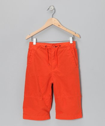 Autumn Leaf Tracker Shorts - Boys