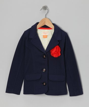 Sailor Blue Compass Blazer - Toddler & Girls