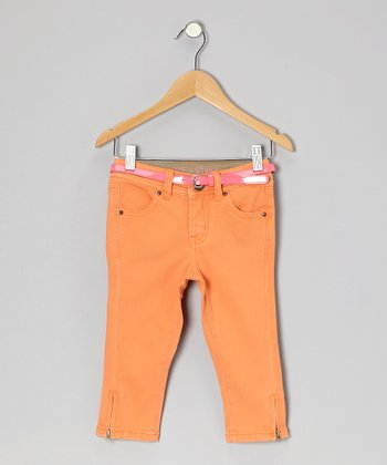 Spring Mango Yacht Capri Pants - Toddler & Girls
