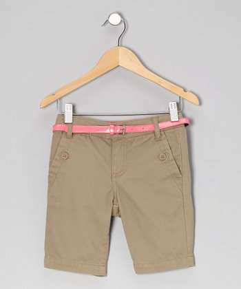 Elmwood Hyacinth Bermuda Shorts - Girls