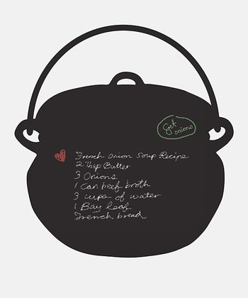 Cooking Pot Chalkboard Wall Decal