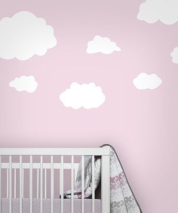 White Cloud Wall Decal Set