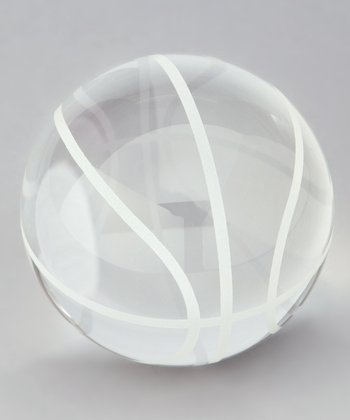 Crystal Basketball Keepsake