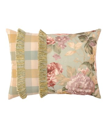 Sage Gold Chesapeake Pillow