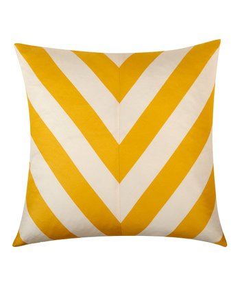 Golden Yellow Kenya Pillow