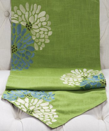 Lime Green Fresca Sandy Wilson Table Runner