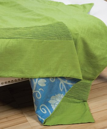 Lime Green Sandy Wilson Fresca Throw