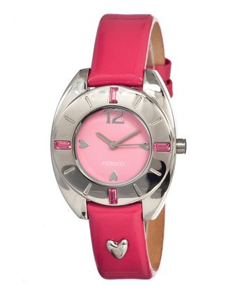 Light Pink Heart Watch