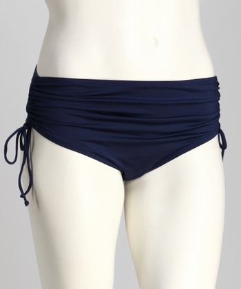 Admiral Plus-Size High-Waisted Bikini Bottoms