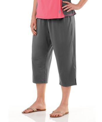 Charcoal Capri Pants - Plus