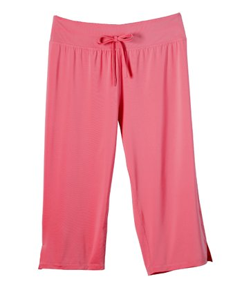 Coral Capri Pants - Plus