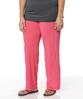 Coral Yoga Pants - Plus
