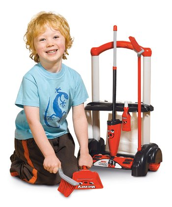 Henry Cleaning Trolley Toy Set