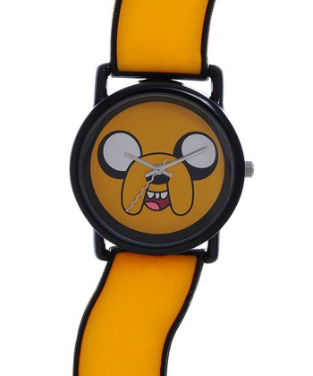 Orange Jake Wavy Watch