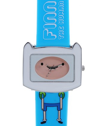 White & Blue Finn Watch