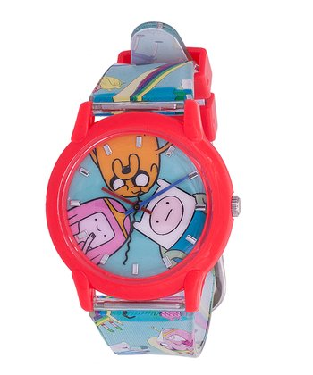 Blue & Hot Pink Cast Watch
