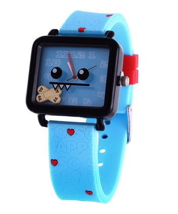 Blue Ozzie Square Face Watch
