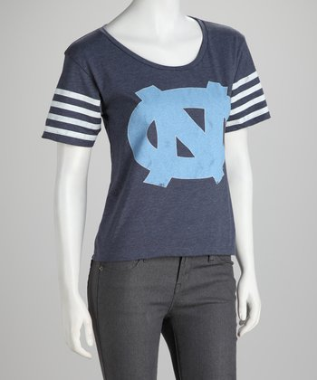 Denim University of North Carolina Tar Heels Tee - Women
