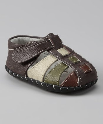 Chocolate Brown Originals Sydney Closed-Toe Sandal