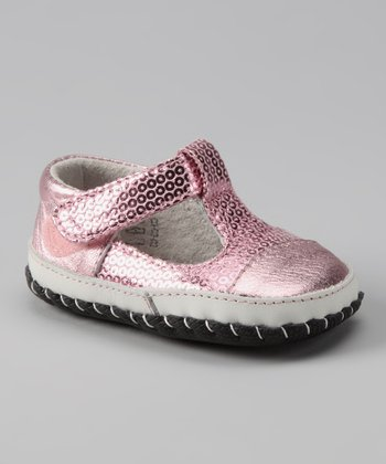 Light Pink Originals Ruby T-Strap Shoe