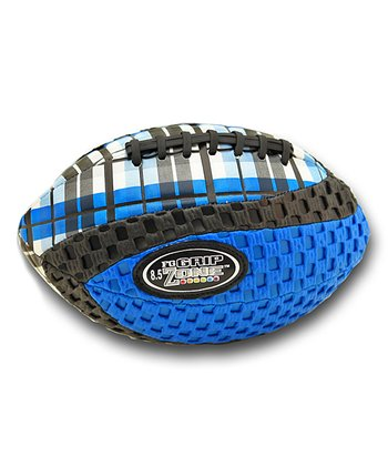 Blue Grip Zone Plaid Football