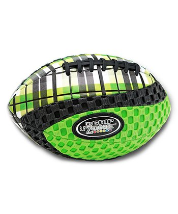 Green Grip Zone Plaid Football