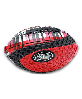 Red Grip Zone Plaid Football