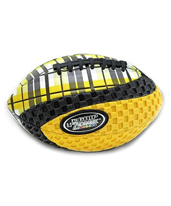 Yellow Grip Zone Plaid Football