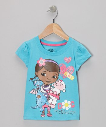 Blue Dolls Doc McStuffins Tee - Toddler & Girls
