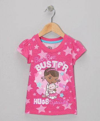 Pink 'Buster' Doc McStuffins Tee - Toddler & Girls