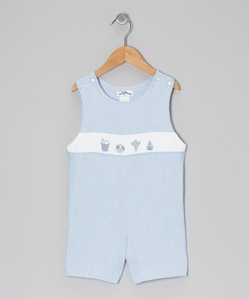 Blue Gingham Beach John Johns - Infant & Toddler