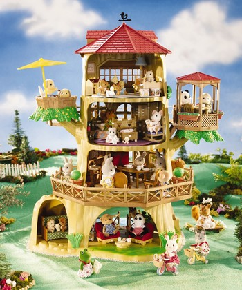 Country Tree House Set