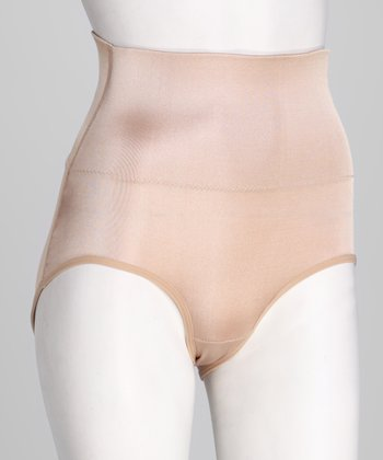 Nude High-Waisted Briefs - Women & Plus