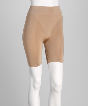 Nude Seamless Shaper Shorts - Women & Plus