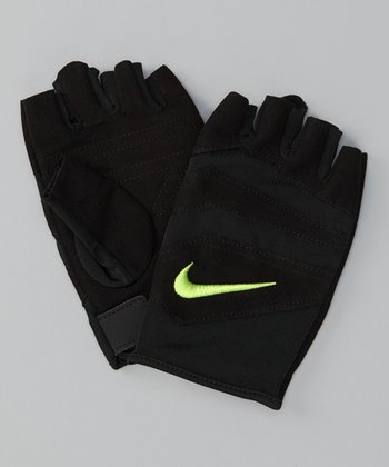 Black & Atomic Green Vent-Tech Training Gloves - Women