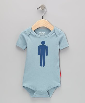 Blue Boy Sign Bodysuit - Infant