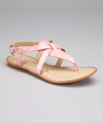 Rosa Patent Leather Aberlin T-Strap Sandal