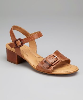 Rust Leather Martine Sandal