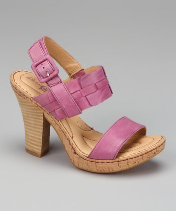 Petunia Leather Yemena Platform Sandal
