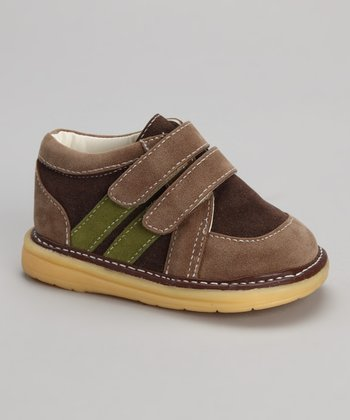 Green & Tan Shoe