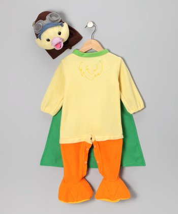 Ming-Ming Duckling Footie Dress-Up Outfit - Infant