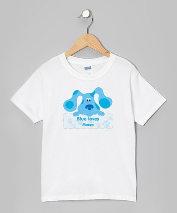 Blue's Clues 'Blue Loves' Personalized Tee - Toddler & Kids
