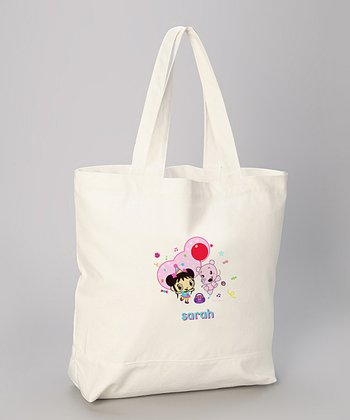 Birthday Kai-lan Personalized Tote