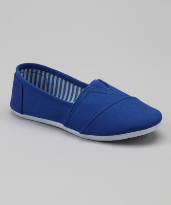 Royal Blue Slip-On Shoe