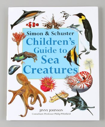 Children's Guide to Sea Creatures Hardcover