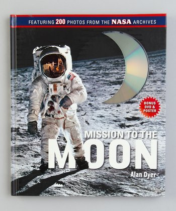 Mission to the Moon Hardcover & DVD