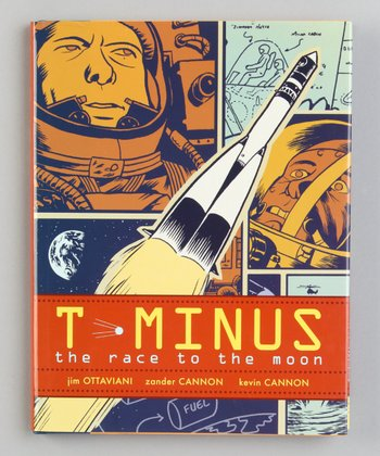 T-Minus: The Race to the Moon Hardcover
