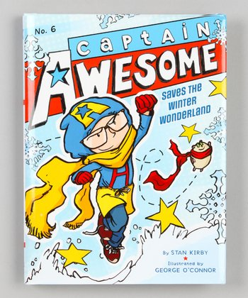 Captain Awesome Saves the Winter Wonderland Hardcover